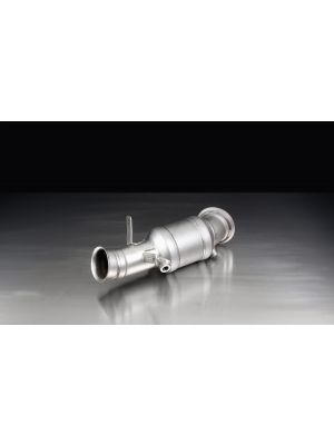 RACING downpipe with sport catalytic convertor (200 CPSI), from 07.2014, without homologation