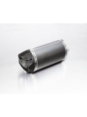SCOOTER RSC, глушитель, без термо-экрана, карбон, 55 мм