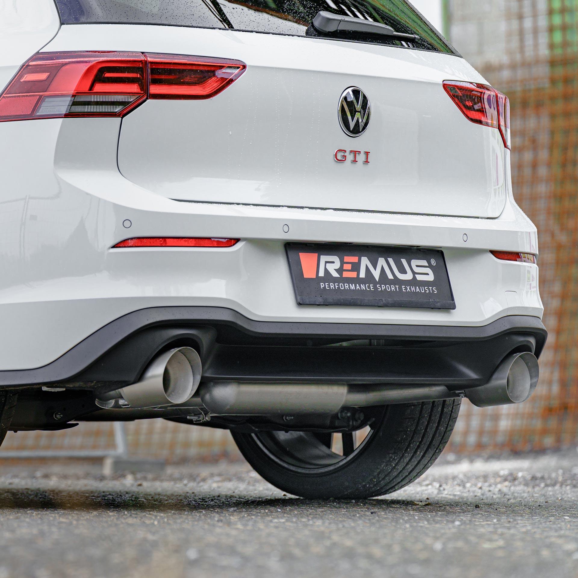 Спортивная выхлопная система VW Golf 8 GTI REMUS